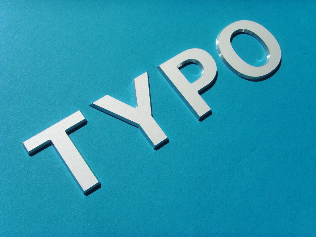 Aluminiumbuchstaben eloxiert