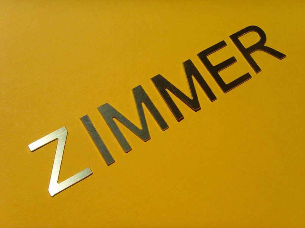 Messingbuchstaben 1mm